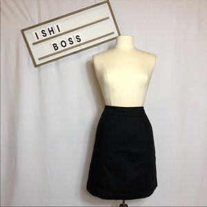 Ann Taylor office  pencil skirt size 2 black